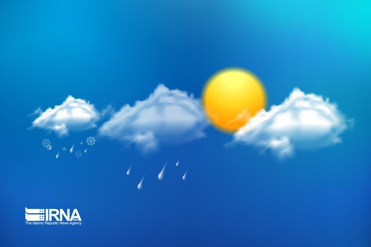 سامانه بارشی امشب از مازندران خارج میشود