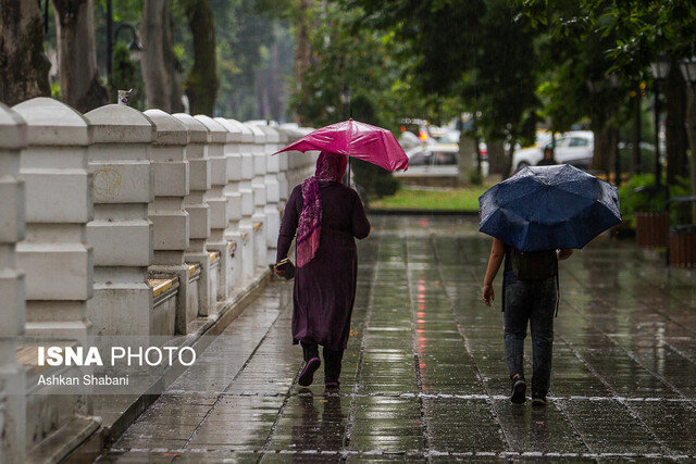 پائیز امسال پر بارانتر از زمستان