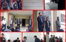 دانش آموزان منطقه چهاردانگه پای صندوق های رای رفتند + تصاویر