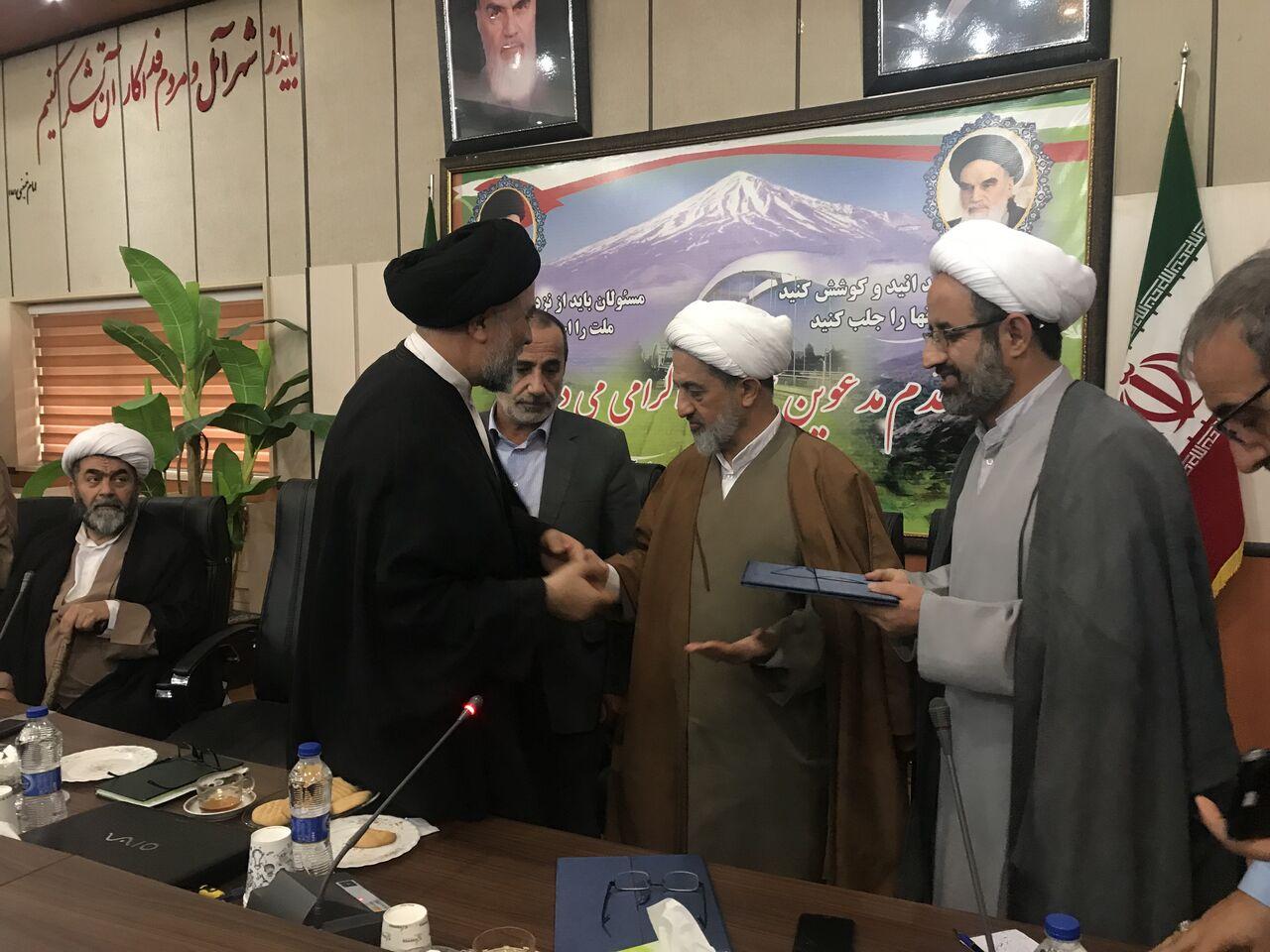 امام جمعه جدید شهر امامزاده عبدالله منصوب شد