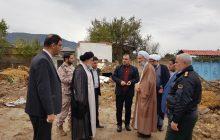 بازدید نماینده ولی فقیه در مازندران از مناطق سیلزده شرق استان