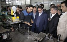 بازدید وزیر صنعت، معدن و تجارت از شهرک صنعتی سلمانشهر عباس آباد