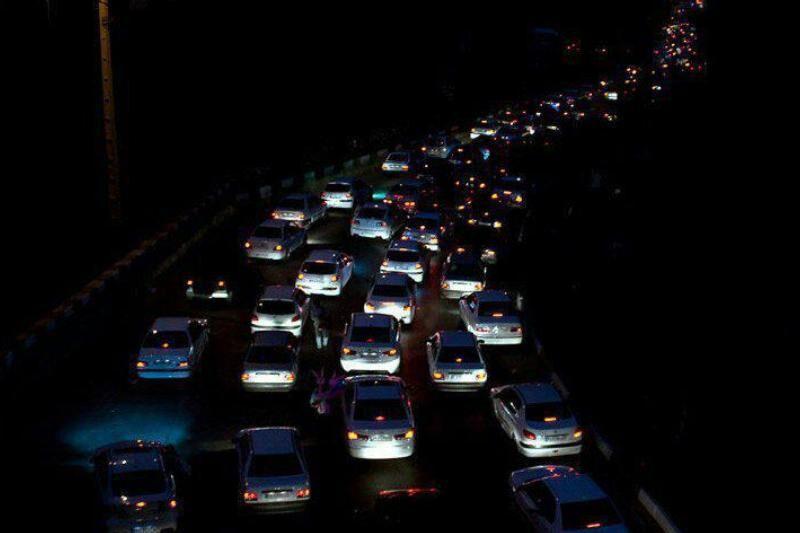 ترافیک در جادههای مازندران نیمه سنگین است