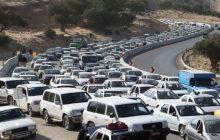 ترافیک سنگین جاده کندوان را یکطرفه کرد