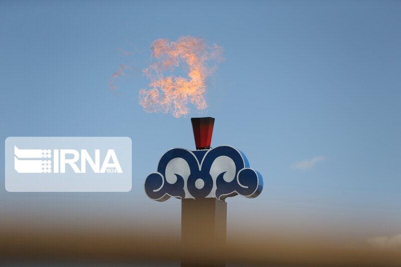 مشعل گاز پنج روستای بخش مرزن آباد چالوس روشن شد