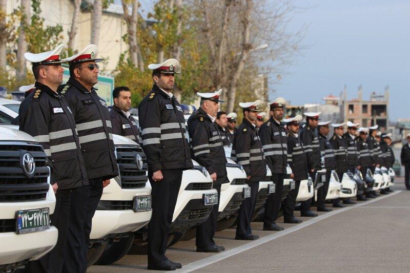 رزمایش طرح زمستانه پلیسراه مازندران برگزار شد