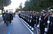 وزیر دفاع و پشتیبانی نیروی های مسلح در دانشگاه علوم دریایی نوشهر