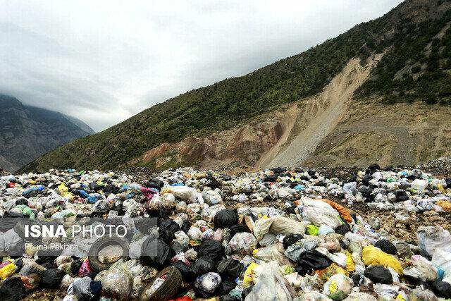 پوششهای جنگلی با پسماندهای زباله نابود میشود