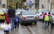 کام تلخ شهرنشینان مازندران از ترافیک مدارس