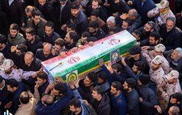 تشییع باشکوه پیکر مطهر شهید سید محسن طاهری ششکی در ساری