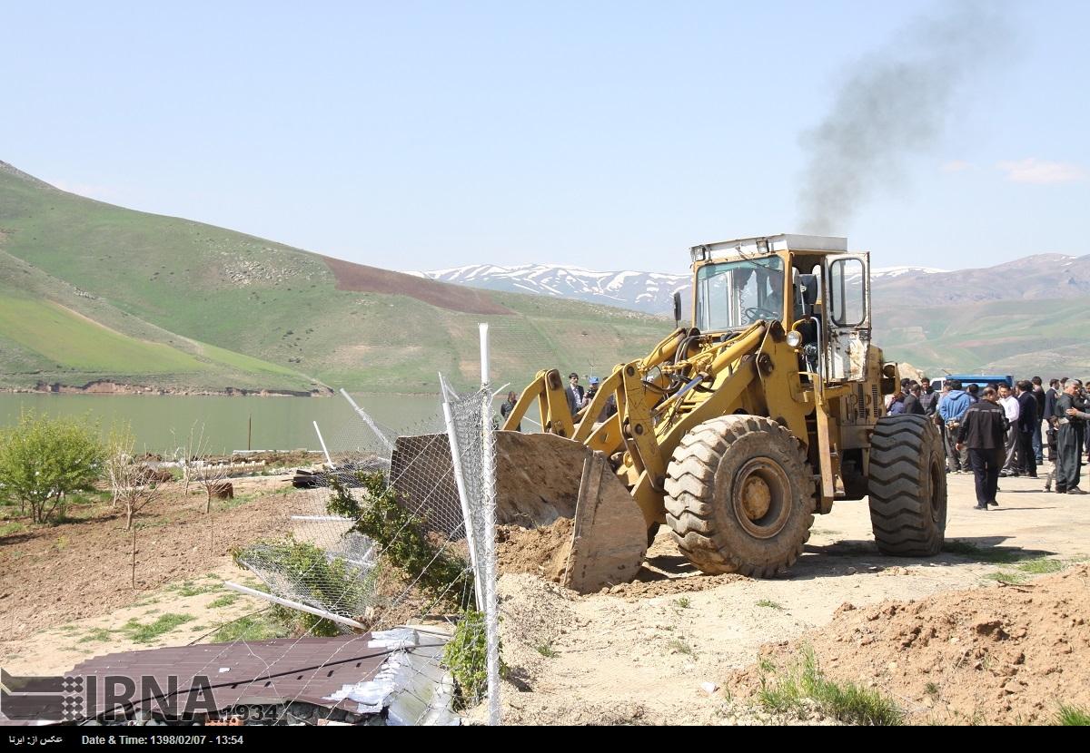 آزادسازی اراضی ملی در بخش لاریجان آمل شدت گرفت