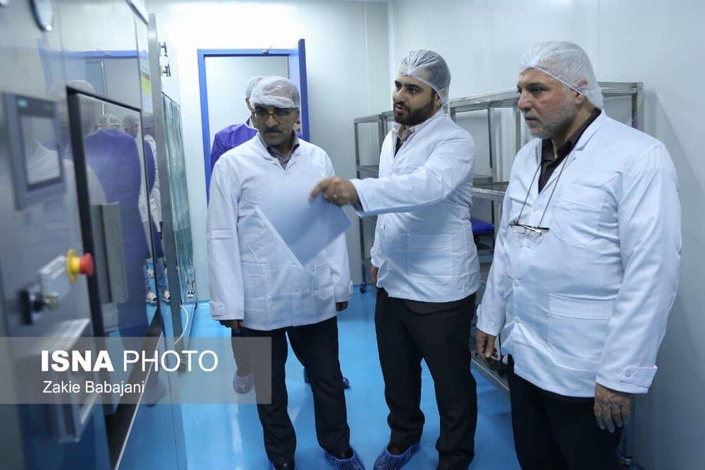 بازدید رییس سازمان غذا و دارو کشور از کارخانه دارو سازی فنآور مبتکر کاسپین مازندران