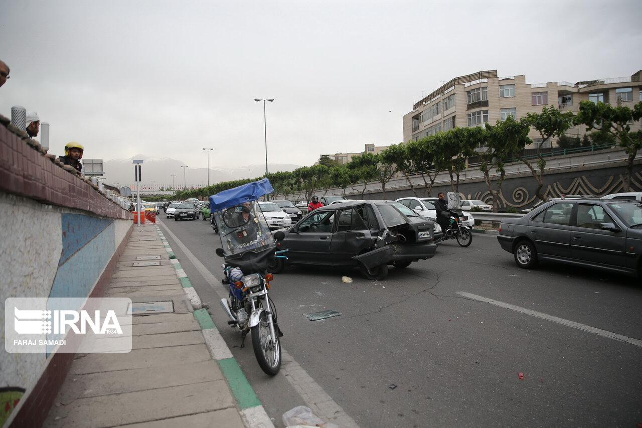 مرگ بر اثر تصادفات درون شهری در مازندران ۲۱ درصد بیشتر شد