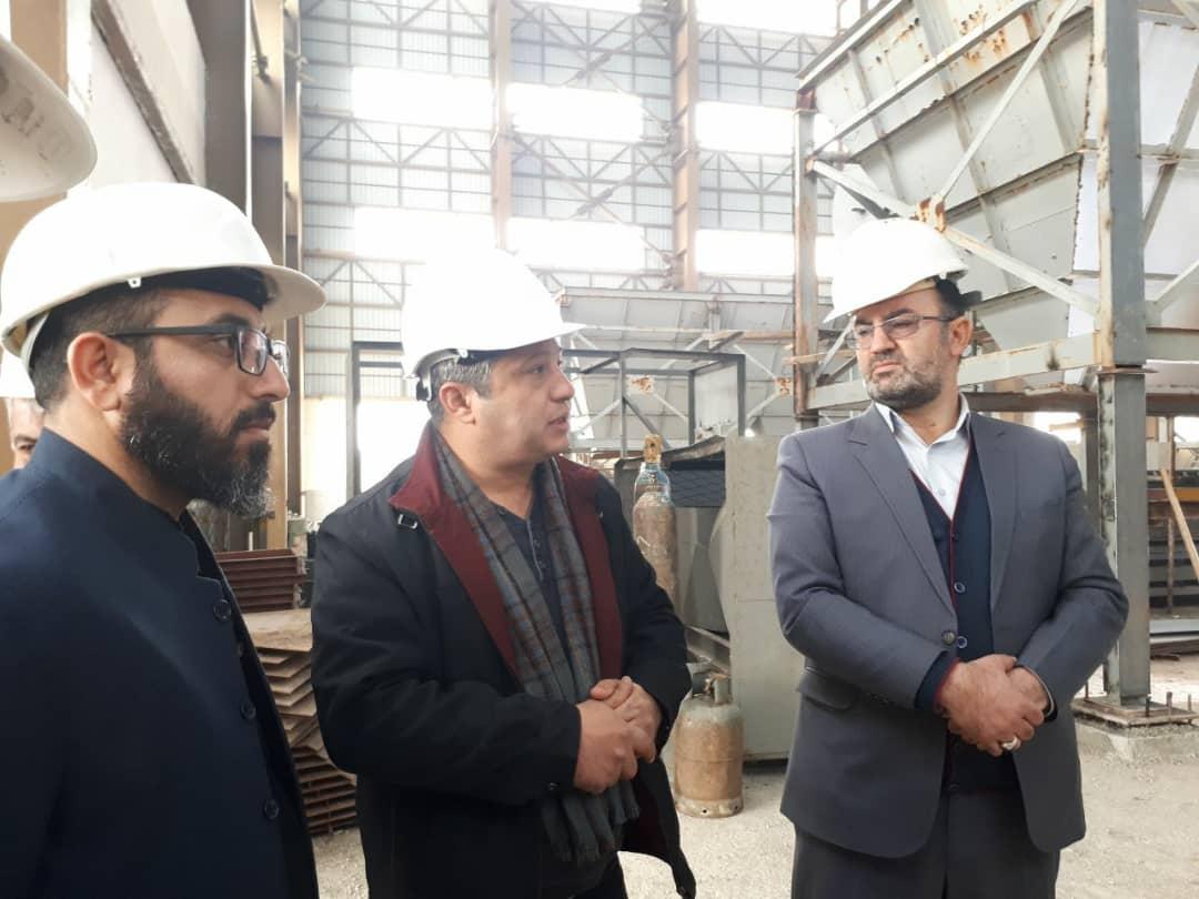 بازدید دکتر جعفری و رئیس دادگاه عمومی بخش چهاردانگه از کارخانه زباله سوز ساری