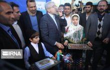 افتتاح طرحهای آبرسانی مازندران با حضور وزیر نیرو در روستای ریکنده قائمشهر