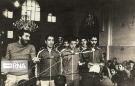 تصاویری از اجتماعات مردم ساری در سال های اول انقلاب
