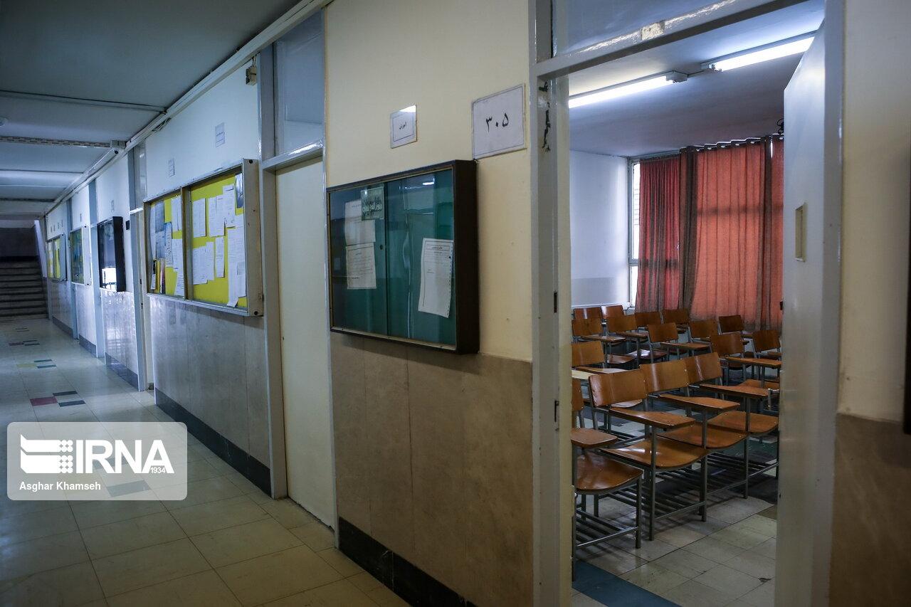 دانشگاههای مازندران تا پایان هفته جاری تعطیل شدند