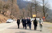 هشدار فرماندار به دکهداران حاشیه جاده عباسآباد - کلاردشت