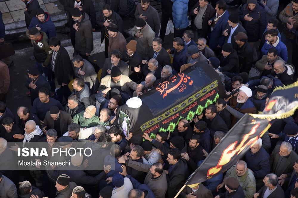 پیکر نماینده سابق ولیفقیه در مازندران تشییع شد