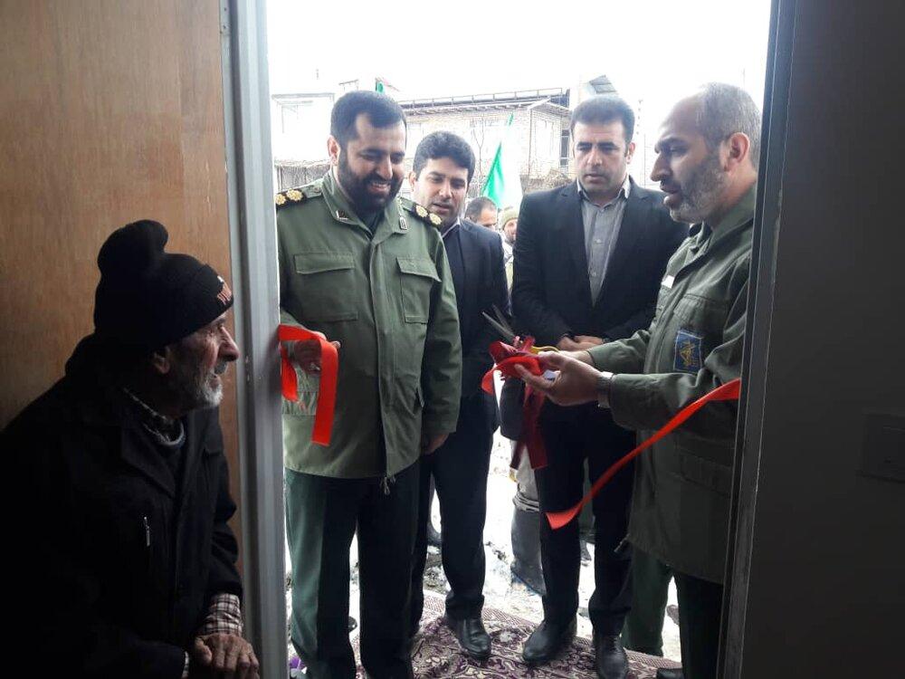 ۳ خانه محروم در روستای کیاسر شهرستان بهشهر افتتاح شد