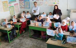حضور پیک امید کانون پرورش فکری کودکان و نوجوانان استان در منطقه چهاردانگه