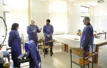 افتتاح خط تولید ماسک بهداشتی و استاندارد در دانشگاه مازندران