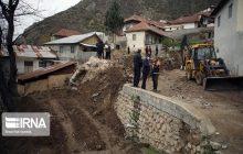 تخلیه هفت واحد در معرض خطر در روستای پیت سرا سوادکوه
