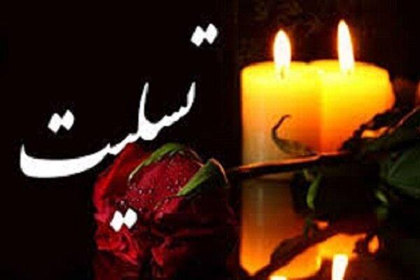 رئیس اداره تبلیغات اسلامی نکا دارفانی را وداع کرد