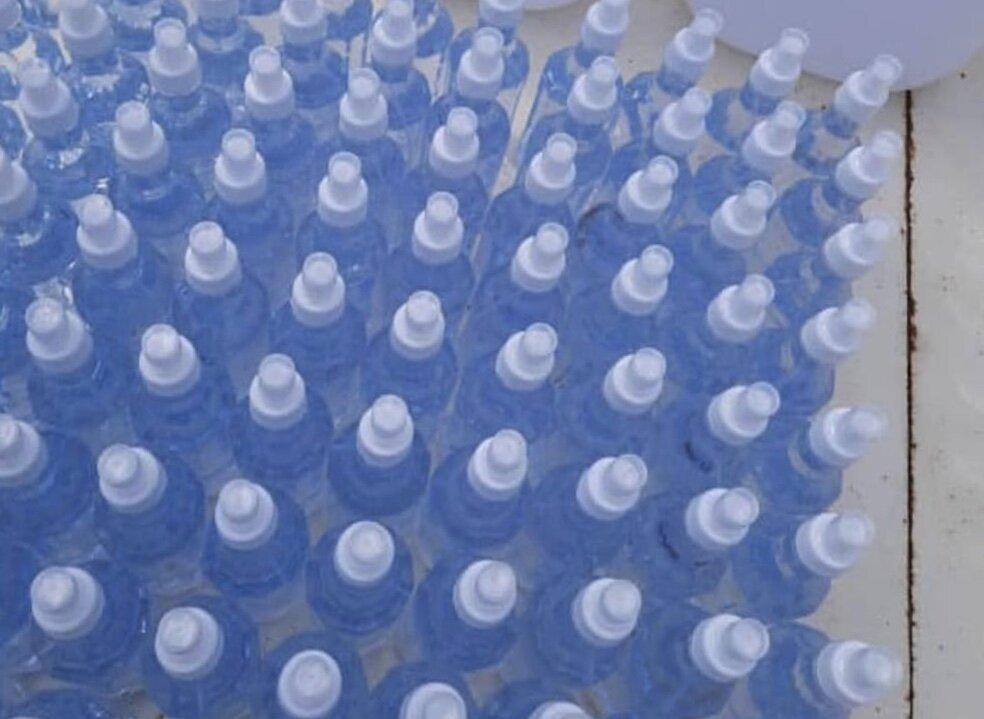 روزانه ۲۰ هزار لیتر محلول ضدعفونی در آمل تولید می شود