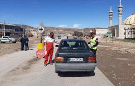 گزارش تصویری: اولین روز سال؛ فعالیت پایگاههای پایش و غربالگری مسافران در تلمادره