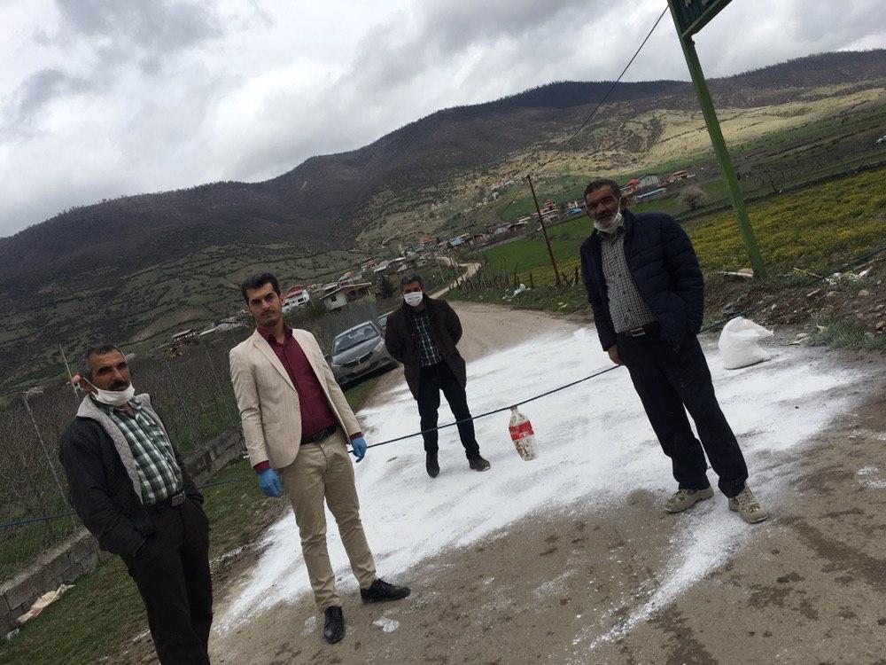 ورود افراد غیر بومی به روستای وری ممنوع شد