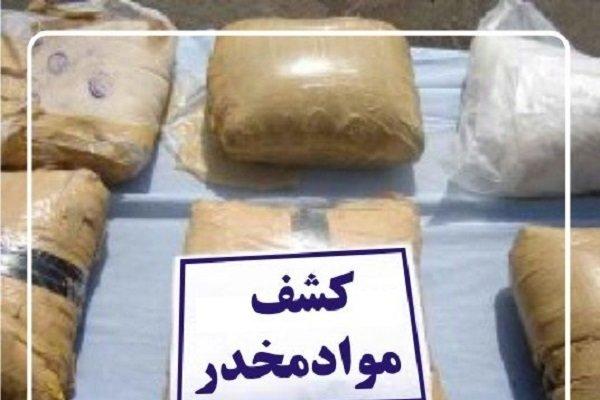 ۲۲ کیلوگرم مواد مخدر در ساری کشف شد