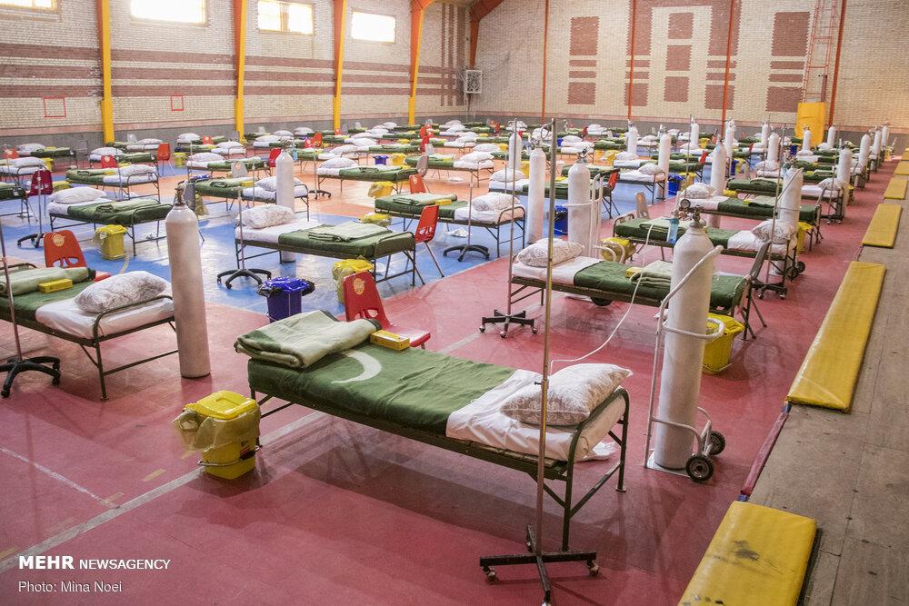 ۱۷ نقاهتگاه ویژه مراقبت ازبیماران کرونایی در مازندران برپا شد