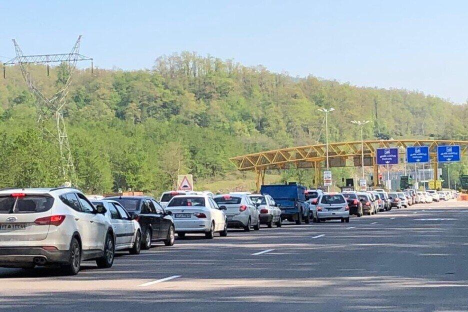 ترافیک پرحجم و سنگین در محورهای مازندران