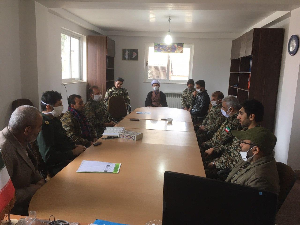 رزمایش دفاع بیولوژیک سپاه چهاردانگه در شهر کیاسر