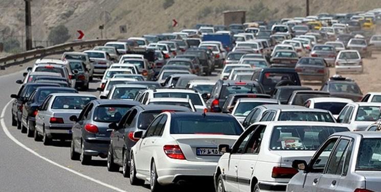 ترافیک در ورودیها شمال/ کندوان امروز یکطرفه است
