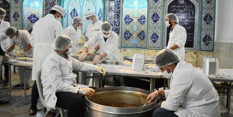 توزیع ۶۰۰ پرس غذای گرم در شب لیالی قدر در چهاردانگه و دودانگه