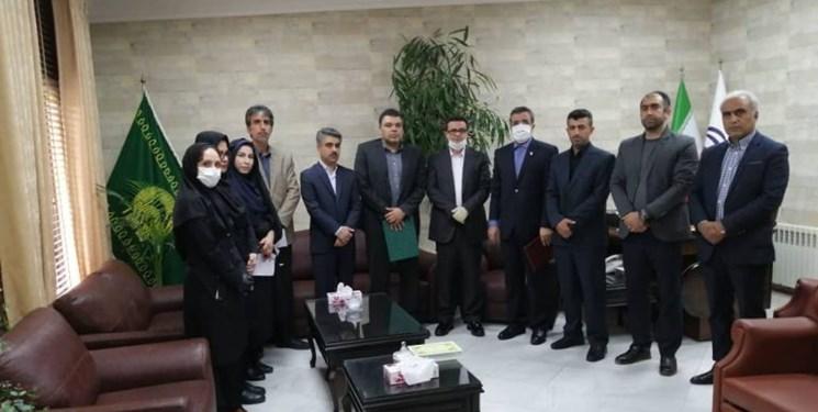 برگزاری مراسم معارفه معاون توسعهای اداره کل ورزش و جوانان مازندران