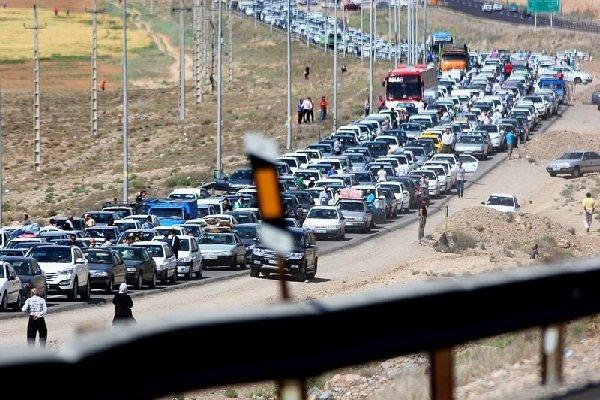 کرج-چالوس امروز یکطرفه است/ترافیک سنگین در محورهای چالوس و هراز
