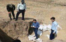 دستگیری ۱۱ نفر حفار غیرمجاز میراث فرهنگی در چهاردانگه