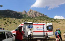 خدماتدهی اورژانس 115 کیاسر در دامنه های شاهدژ