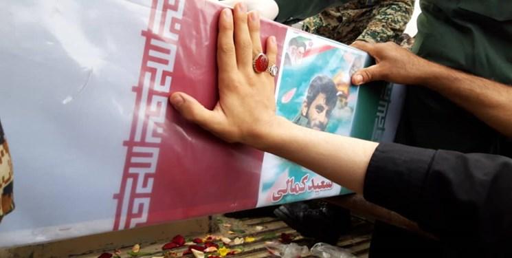 فضای ساری، مملو از عطر و بوی شهادت/حضور پرشور مردم در مراسم + عکس