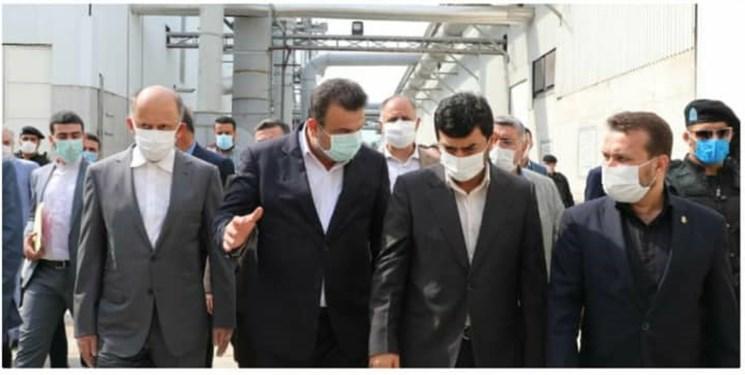 افتتاح بزرگترین واحد تولید امدیاف مازندران در امیرآباد بهشهر