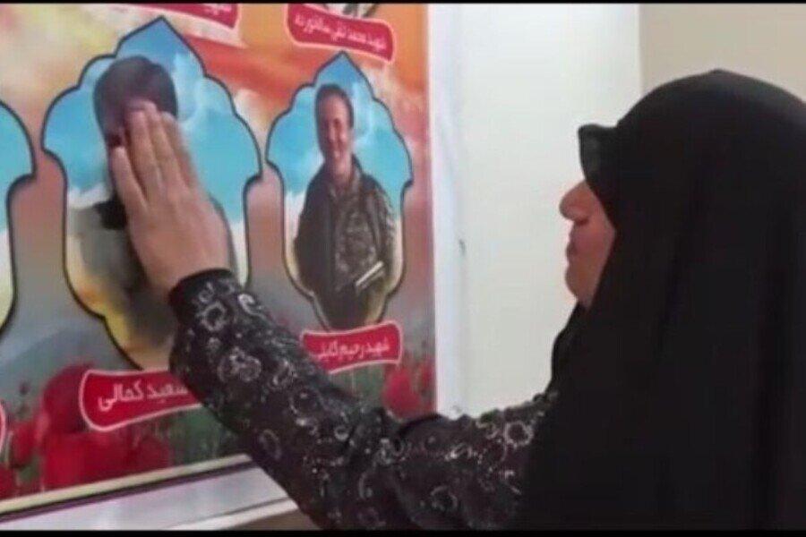 روایتی از دیدار مادر شهید کمالی با فرزند شهیدش