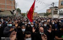 پیکر شهید مدافع حرم در نور تشییع شد