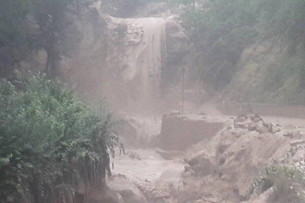 وقوع سیلاب محلی در بهشهر و جنت رودبار رامسر