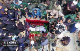 گزارش تصویری: تشییع پیکرهای مطهر شهیدان کمالی و جمشیدی در ساری