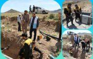 بهرهبرداری از پروژه آبرسانی به ساکنان روستای کردمیر