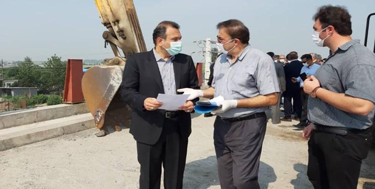 تکمیل پروژه پل روگذر کمربندی فریدونکنار با اعتبار ۲۰ میلیارد ریال