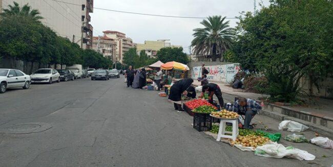 وعده بر زمین مانده شهرداری ساری در حمایت از کاسبان خرد + فیلم و عکس